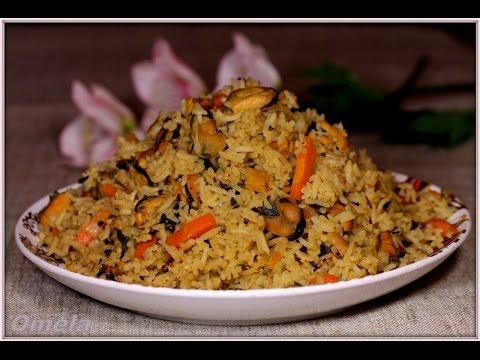 #Плов із мідіями Татуся Бо-3 #рис  #морепродукти  #їжа | #Pilaf with mussels