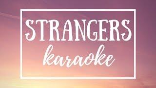 Strangers (KARAOKE) || Tate McRae Lyrics