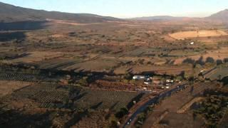 Un recorrido en globo entre campos de agave