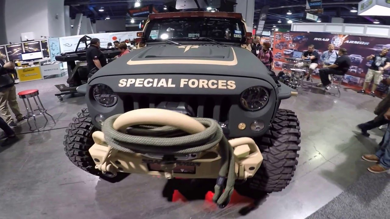 Military Jeep Rubicon Black Ops Youtube