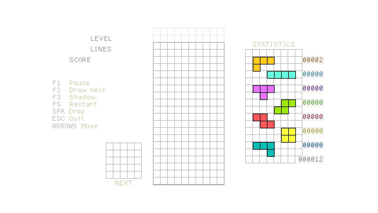 Tetris #1 - HTML5 Game Programming Tutorial [javascript]