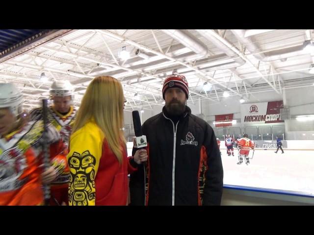Интервью с Максимом Викторовым после игры