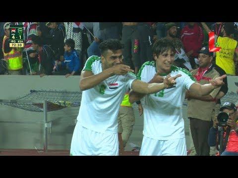 Iraq 4 - 1 Saudi Arabia (28.02.2018 // by LTV)