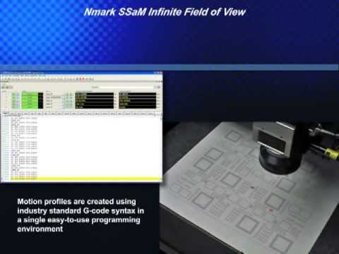 Synchronized Galvo Scanner and Servo Motion Control - Nmark SSaM