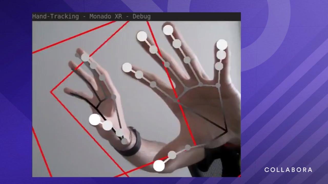 Collabora разрабатывает свободную реализацию трекинга рук