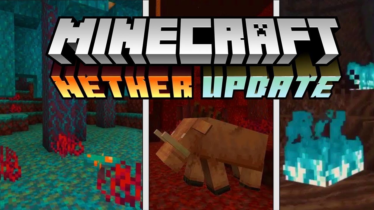 Minecraft 1 16 Nether Update Trailer Youtube