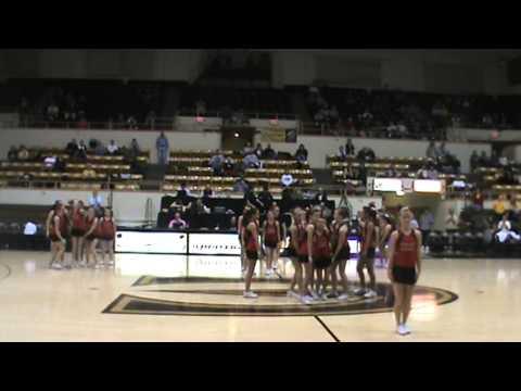 Emporia Middle School Stunt Team 2012 Performance