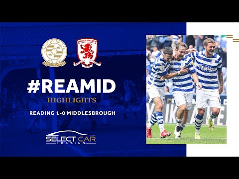 Reading 1-0 Middlesbrough - Alen Halilović (55')