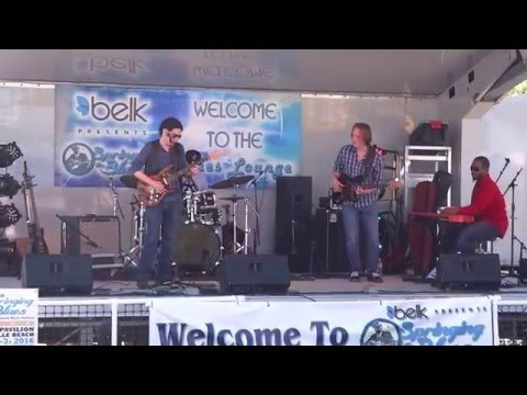 "Conrad Oberg playing Stevie Ray Vaughan's  ""Texas Flood"" 04/03/2016"