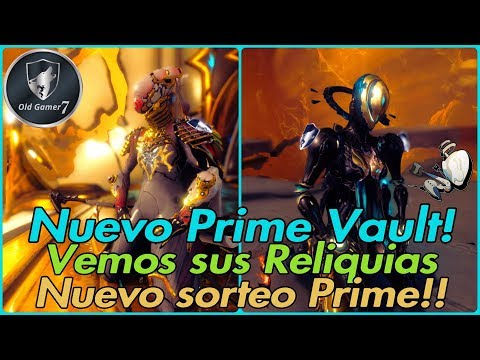 WARFRAME (PARTNER) NUEVO PRIME VAULT! NOVA Y MAG VOLVIERON! y nuevo sorteo en camino ;) thumbnail