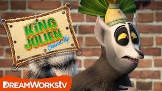 Funny Lemur Gags | KING JULIEN STAND UP