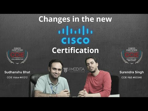 Breaking News: New Changes to the Cisco Certification Programs -CCNA
