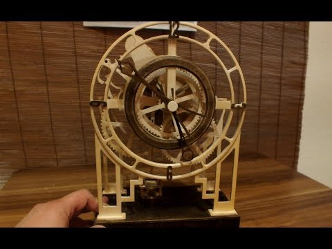 DIY Electromechanical clock made on hobby  CNC
