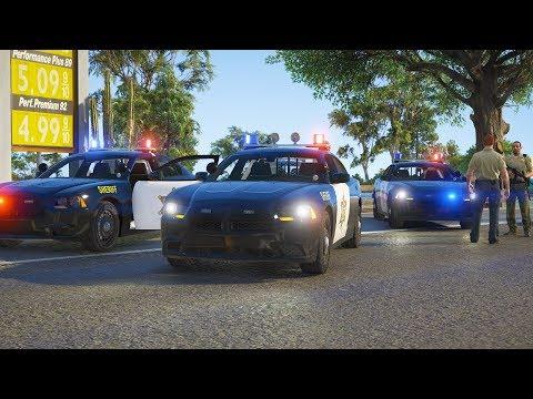 LSPDFR - Day 669 - Retro modern Blaine County Sheriff's Office fleet