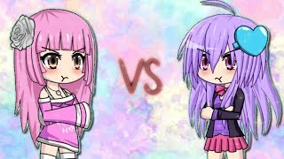 Emily VS Layla ~ Gacha Studio Music Video ~ Natsuki VS Nico Rap Battle