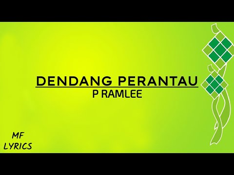 P Ramlee - Dendang Perantau (Lirik)