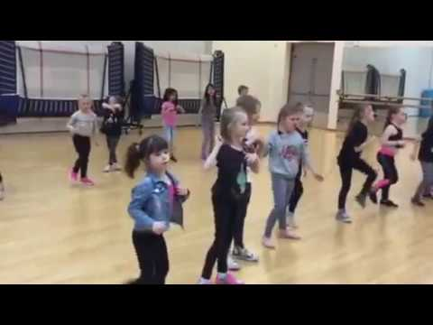 Junior Musical Theatre Wednesday group show rehearsals 'we will rock you' *i do not own this song a