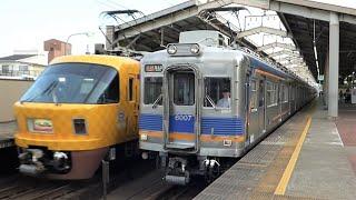 南海電鉄 6000系先頭車6007編成 天下茶屋駅