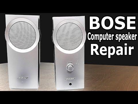 Bose computer speaker Repair | Disassembly
