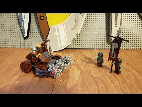 LEGO By The Book - Dwarves Mine Defender (7040)