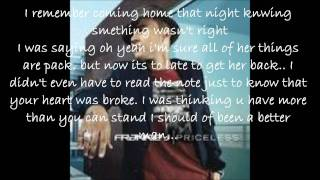 Frankie J Without You Lyrics