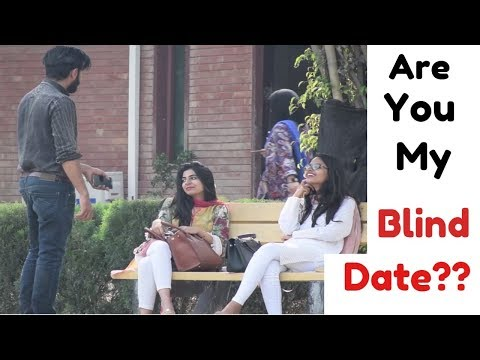 Are you my Blind date? | Prank in pakistan | Comsats | That was silly