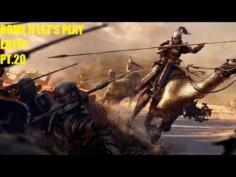 Total War Rome 2: Egypt. Episode 21. Elite army?