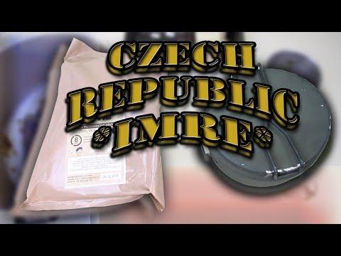 *CZECH REPUBLIC* | IMRE - MENU 4, HAM & MEXICAN SALAD | CZECHOSLOVAKIAN MESS KIT