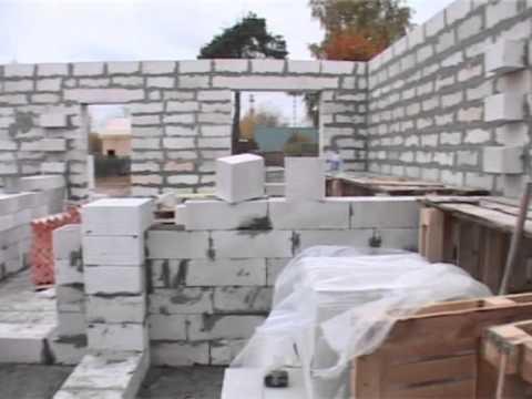 как построить дом из газосиликатного блока?