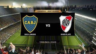 Boca vs River | Final Copa Libertadores 2018 (ida) | Partido Simulación