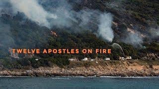 CAPE TOWN FIRE: TWELVE APOSTLES 11/10/2017