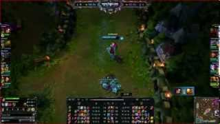 League of Legends: Katarina vs Xin zhao