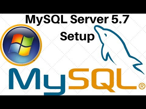 MySQL Server 5.7 Download Install and Setup In Windows 32 or 64 bit Machine
