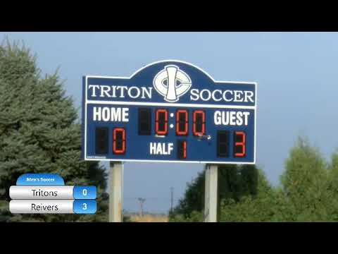 Iowa Central Men's Soccer: Tritons vs Iowa Western (9/18/2019)