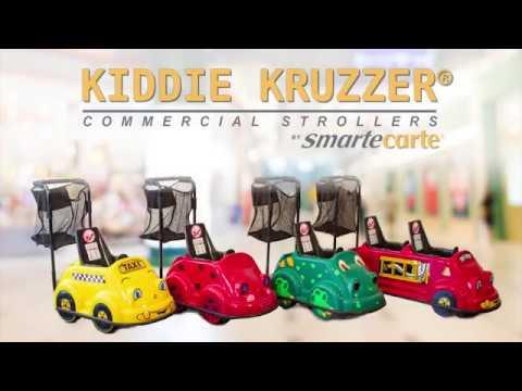 Commercial Strollers - Kiddie Kruzzer Strollers from Smarte Carte