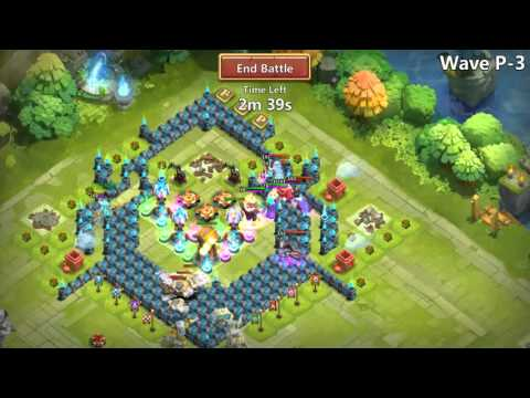 Castle Clash: HBM P? PD THUNDER DRUID 3 HERO