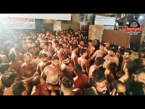 Anjuman e Hussainia sadar bazar lahore ammar shah pursa 9 zilhaj 2018 new kalam
