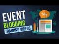 Event blogging tutorial in hindi - blogging for money Part-1