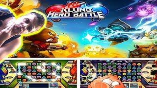 БЕЗУМНЫЕ БОИ В ИНТЕРЕСНОМ СТИЛЕ ► Kluno Hero Battle ►Обзор,Первый взгляд,Геймплей,Gameplay