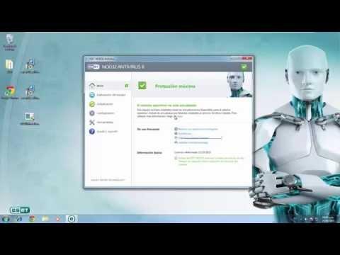 Cambiar Usuario y Contraseña de ESET NOD32 Antivirus 8.0.x (Actualizar Licencia)