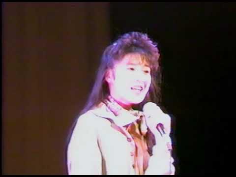 19890225北岡夢子全国キャンペーン「夢をあげよう」(東京神田パンセホール)