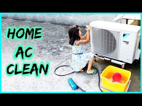 AC Service & Cleaning, Outdoor Unit Cleaning