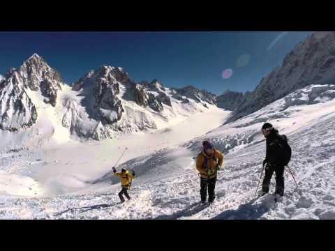 UCPA Chamonix, Off Piste Glacier 2016 - Les Grands Montets