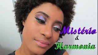 Negra Vaidosa | ESPECIAL FIM DE ANO |  Maquiagem Violeta e Verde  |