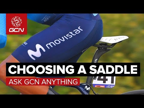 How Do I Choose The Perfect Saddle? | Ask GCN Anything