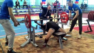Sitdikova Aigul bench press 125kg@47kg. Championship of Russia 2017. New record of Russia(, 2017-04-20T10:23:07.000Z)