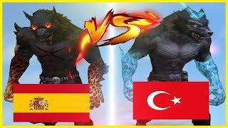 İSPANYOL TAKLACI VS TÜRK TAKLACI-İSPANYOLLARA ÇATIYI ÖĞRETTİM - WOLFTEAM