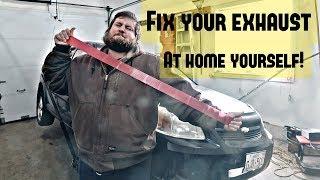 Exhaust Repair Tape - Nedlasting