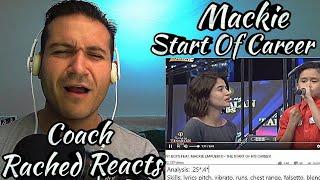 Vocal Coach Reaction + Analysis - Mackie Start Of Career