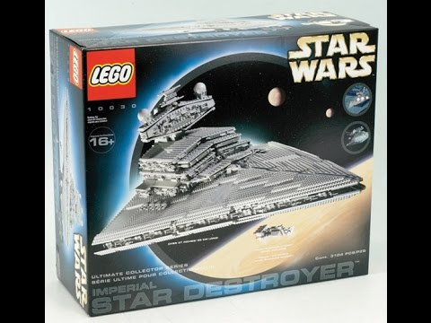 Top 10 Coolest Star Wars Lego Sets - ListMania - YouTube